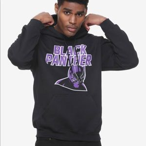 Marvel by Hot Topic Men's XL Black Panther Hoodie